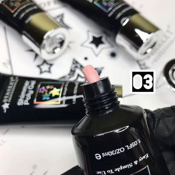 STARLET Professional Shimmer Poly Gel  03   30 мл