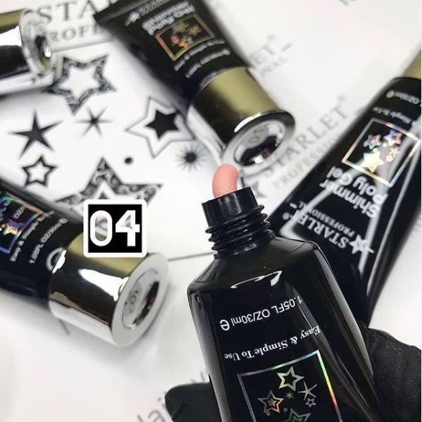 STARLET Professional Shimmer Poly Gel  04   30 мл