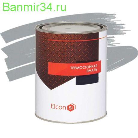 ELCON Эмаль жаростойкая до +700 0,8кг графит