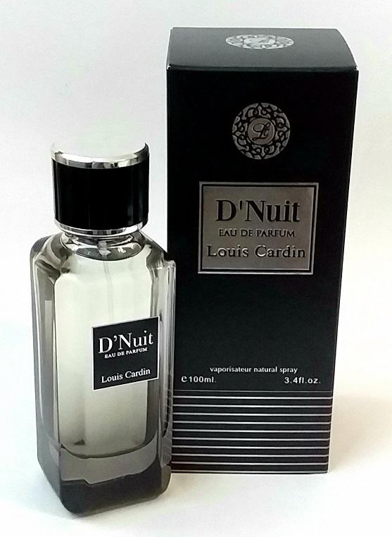 Мужские духи Louis Cardin D'Nuit, 85 ml