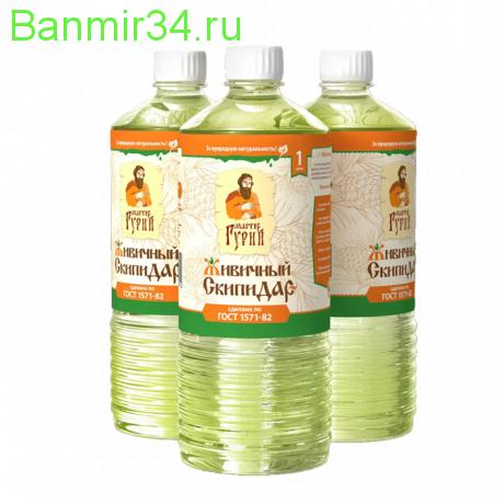 МГ Лоскутный воск Живичный скипидар бутылка 0,25л                                                               ¶