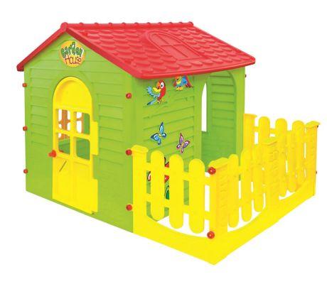 Mochtoys Домик с забором садовый 10498