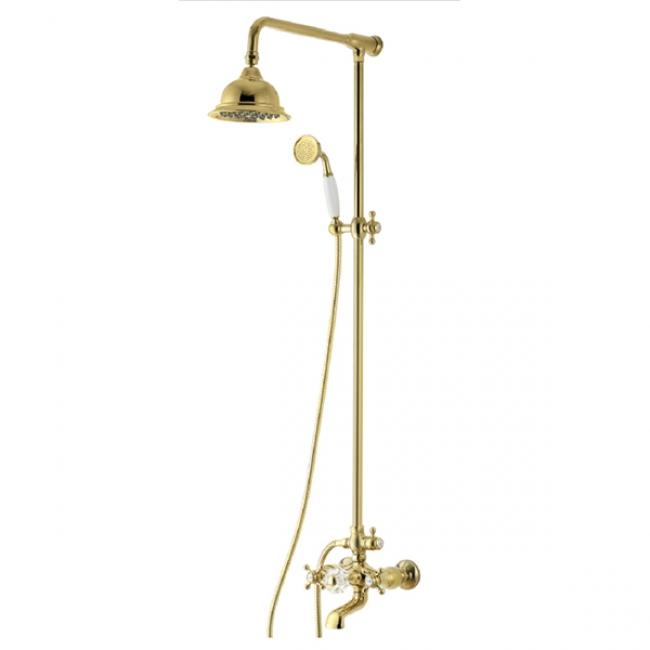 Душевая система KAISER 90190-3 Gold/мет (90190-3 Gold/мет)
