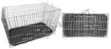 Клетка для собак 390*720*430