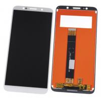LCD (Дисплей) Huawei Honor 7A (DUA-L22)/Honor 7S (DRA-LX5)/Honor 9S (DUA-LX9)/Y5 Lite 2018 (CAG-L23)/Y5 Prime 2018 (DRA-LX2)/Y5p (DRA-LX9) (в сборе с тачскрином) (white) Аналог