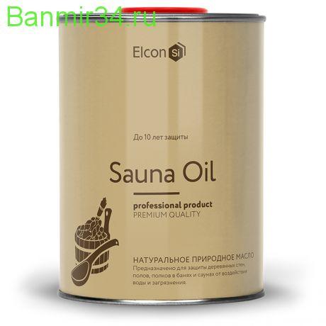 ELCON Масло для полков Sauna Oil 1л