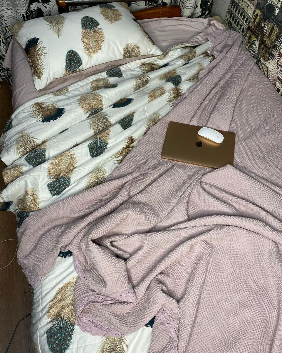 Белье с одеялом из египетского хлопка