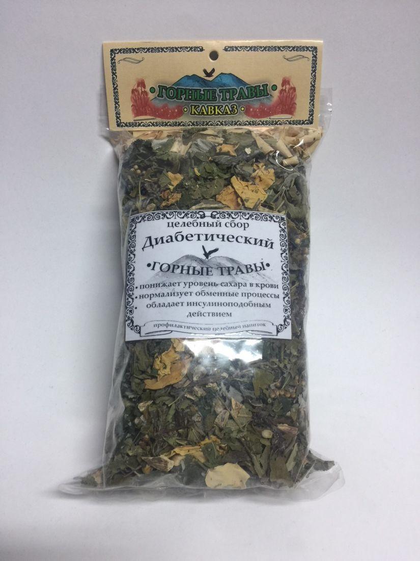 Сбор трав целебный - диабетический - 80 гр