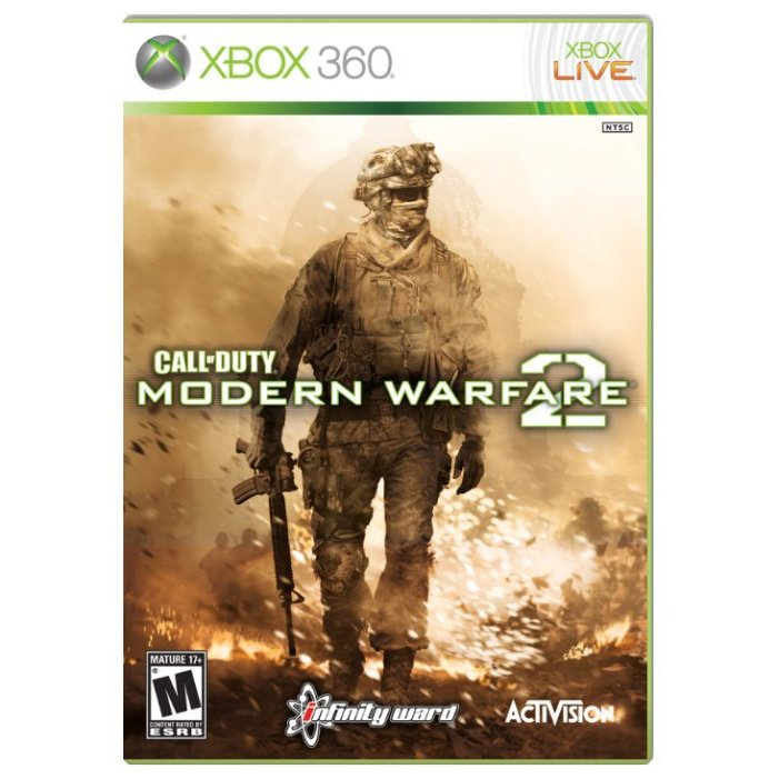Игра Call of Duty : Modern Warfare 2 (Xbox 360)