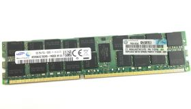 Модуль памяти HPE 16GB (1x16GB) 2Rx4 PC3L-12800R-11 Low Voltage Registered DIMM, Reman (713985R-B21)