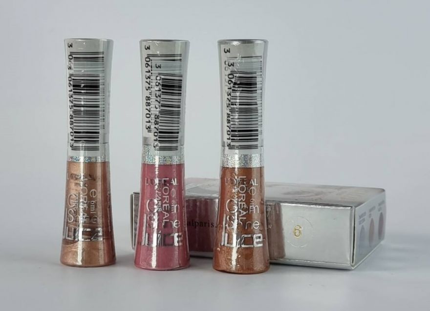 Блеск для губ Loreal 3 Lipgloss Glam Shine №6 6 ml (упаковка)