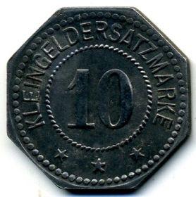 Германия. Штендаль 10 пфеннигов 1917 нотгельд