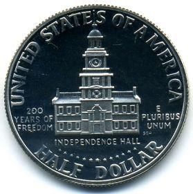 США 1/2 доллара 1976 S