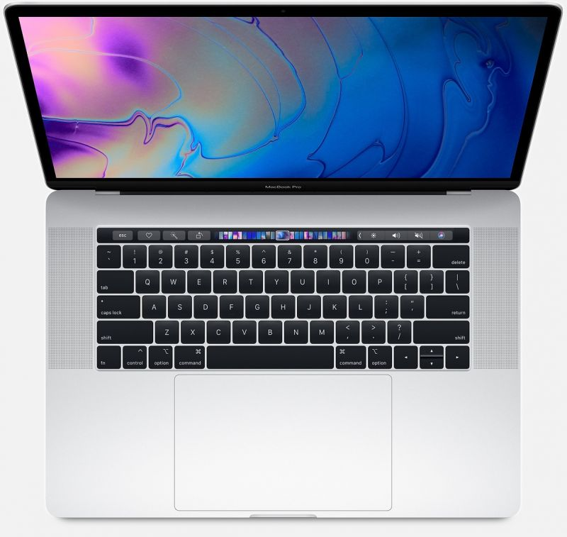 Apple MacBook Pro 15 (2018) 256Gb Silver (MR962)