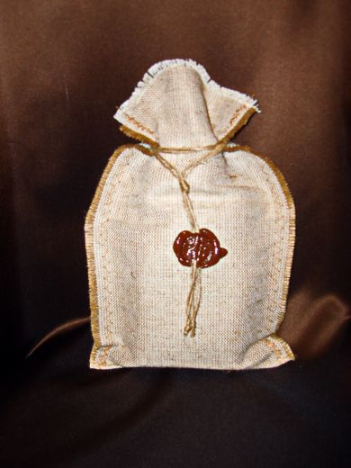 Мешочек с кофе (100 г.) - подарочный набор №28-Б