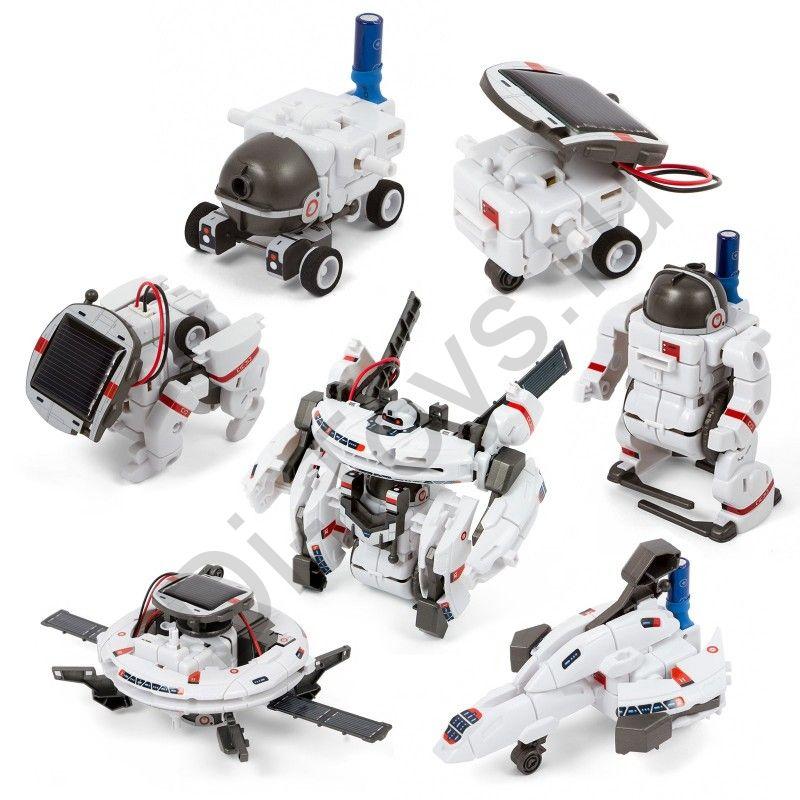 Конструктор SPACE FLEET 7 В 1