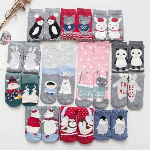Новогодние женские носки 36-41 KW0801