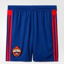 Детские шорты adidas CSKA Home Shorts Young синие