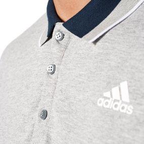 Футболка adidas Essentials Polo серая