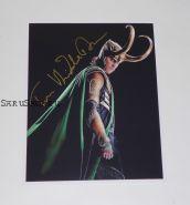 Автограф: Том Хиддлстон. Мстители. Тор