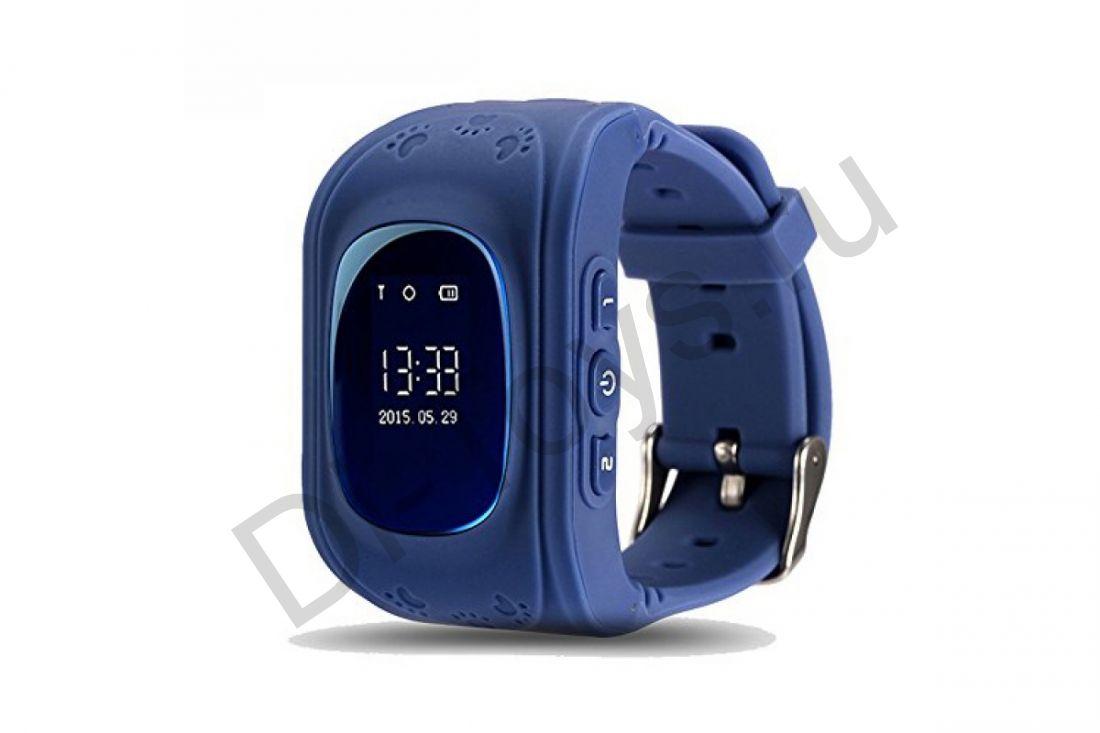 Детские часы smart baby watch q50 Синие