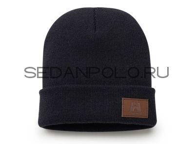 Зимняя шапка унисекс Volkswagen Classic Beanie, Unisex, Dark Blue