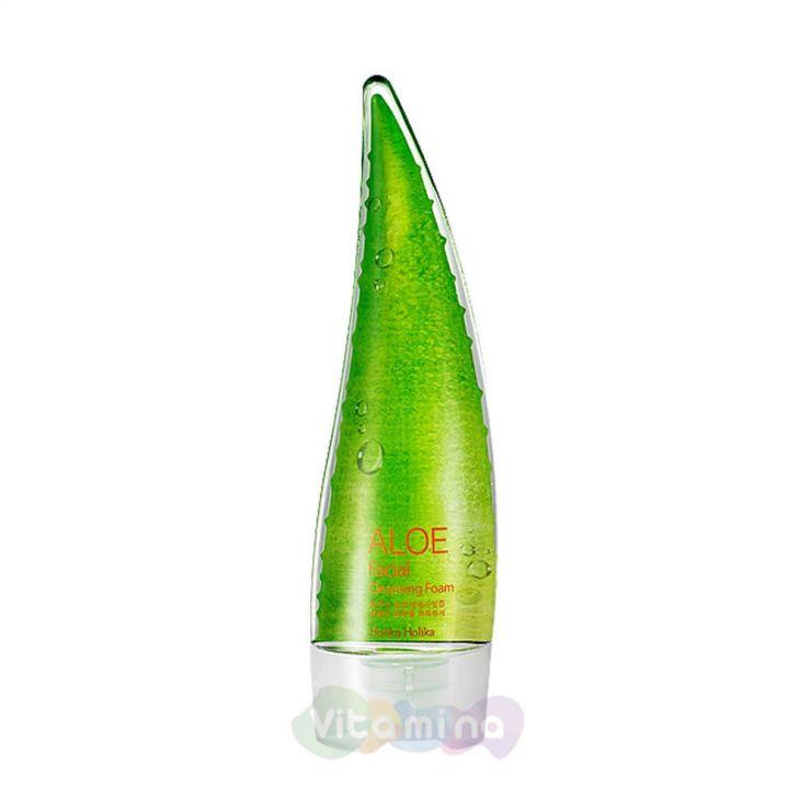 Holika Holika Пенка очищающая с Алоэ Aloe Cleansing Foam