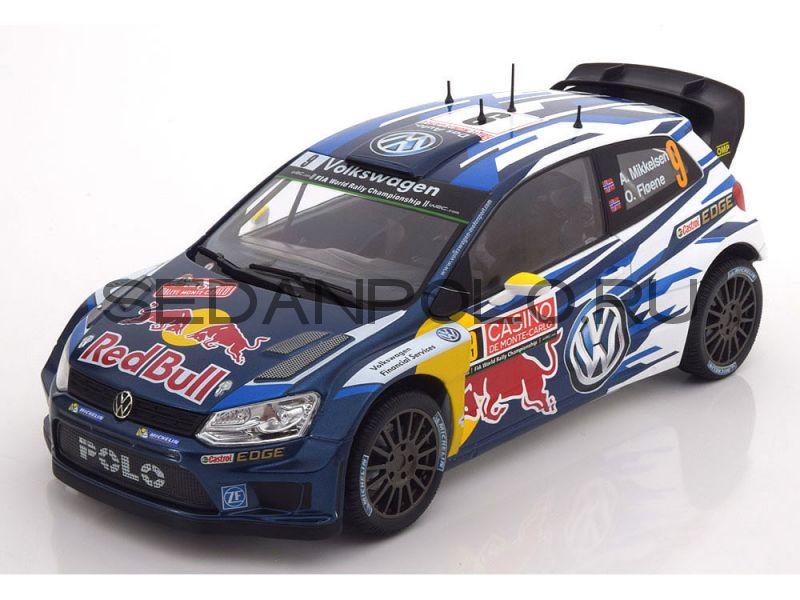 Модель автомобиля Volkswagen Polo R WRC, 1:18, Mikkelsen/Floene
