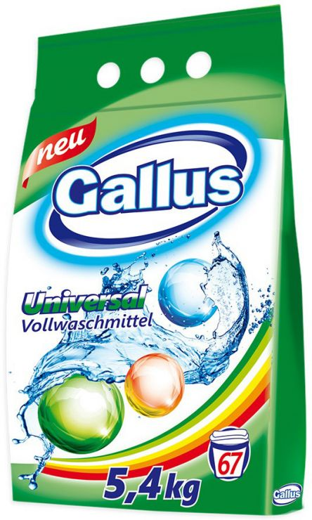 Gallus Стиральный порошок универсальный 5,4 кг