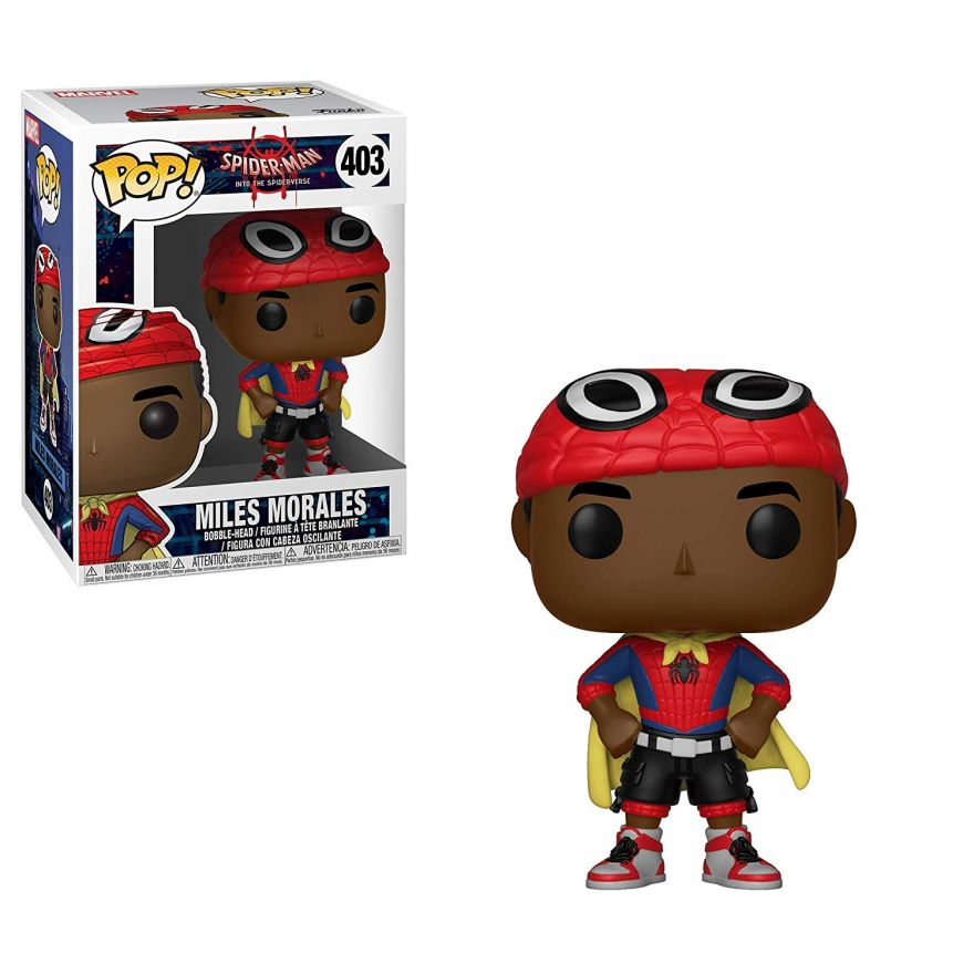 Фигурка Funko POP! Bobble: Marvel: Animated Spider-Man: Miles w/ Cape 33976