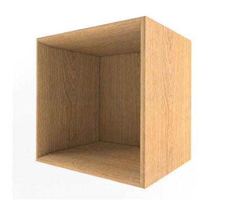 Полка Куб дерево Ньютон Грэй
