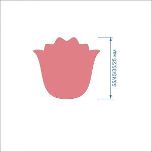 `Заготовка ''Тюльпан-4'' , фетр 1 мм