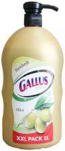 Gallus Жидкое мыло с дозатором Оливковое 1 л