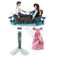 Подарочный набор кукол Ариэль и Эрик люкс
