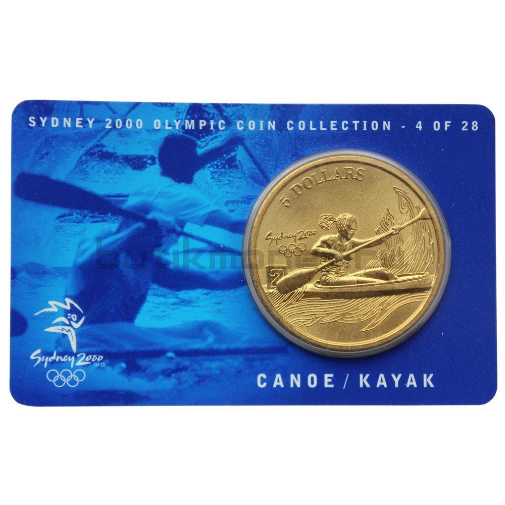 5 долларов 2000 Австралия Гребля на байдарках и каноэ (Олимпийские игры в Сиднее)