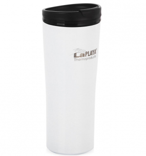 Кружка-термос нерж. сталь LaPlaya Vacuum Travel Mug 0,4 L White 560058