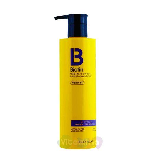 Holika Holika Шампунь с биотином для поврежденных волос Biotin Damage Care Shampoo