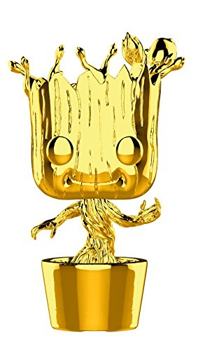 Фигурка Funko POP! Bobble: Marvel: MS 10: Groot (Chrome) 33514