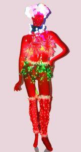 Новогодняя Венера, красная, светодиодная (1.8 метра)