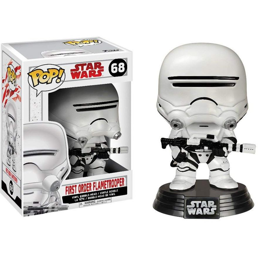 Фигурка Funko POP! Bobble: Star Wars: E8 TLJ: First Order Flametrooper 14740