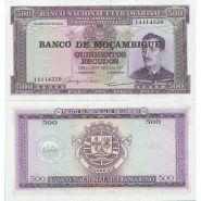 Мозамбик - 500 Эскудо 1976 UNC
