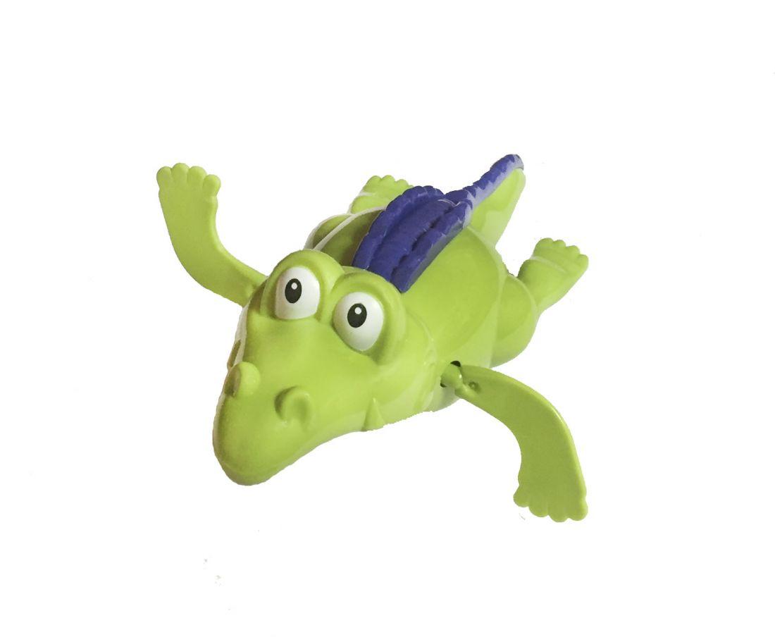 Игрушка для ванны крокодил заводной