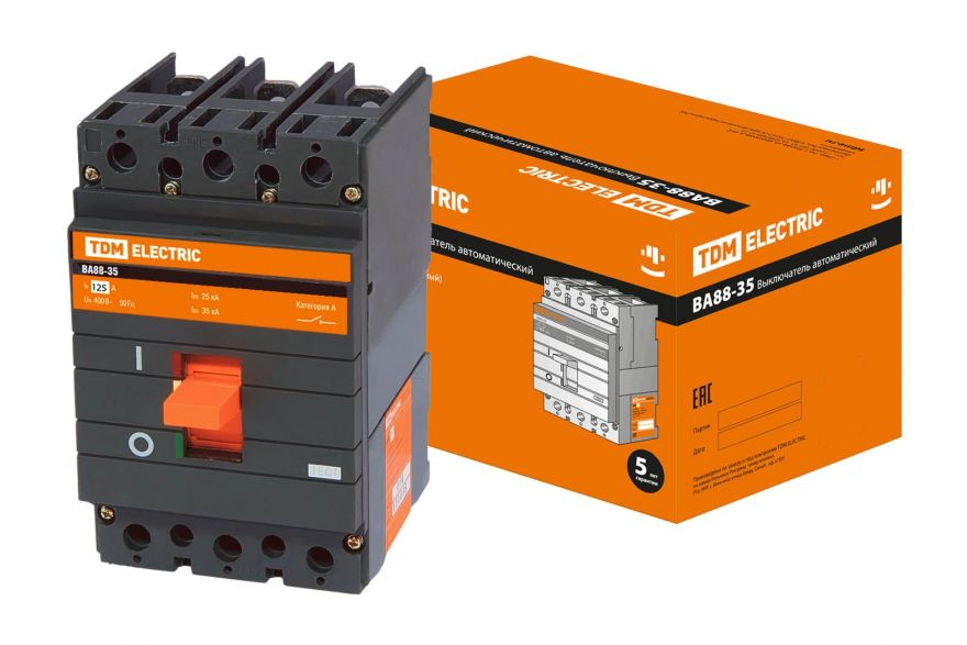 Автоматический выключатель TDM ВА88-35 SQ0707-0096