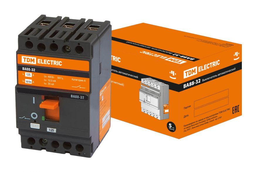 Автоматический выключатель TDM ВА88-40 SQ0707-0023