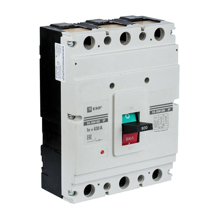EKF Автоматический выключатель ВА-99М 800/800А 3P 50кА EKF Basic