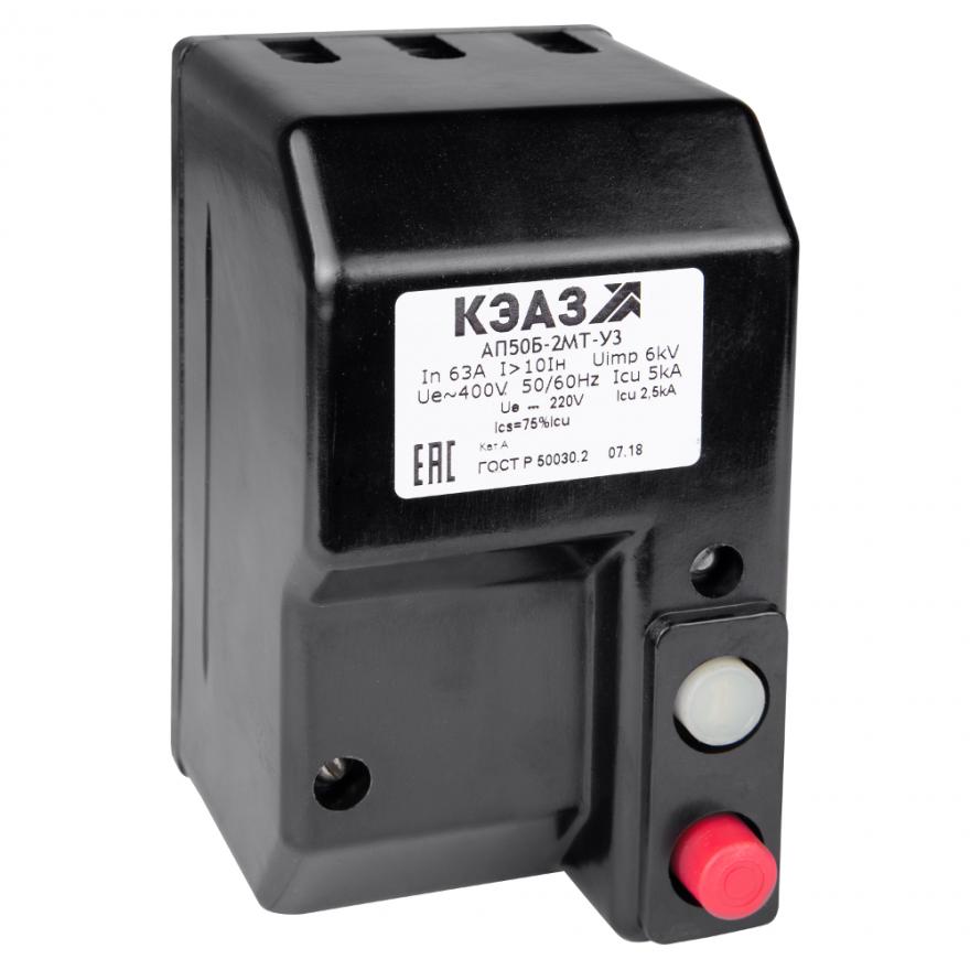 Автоматический выключатель КЭАЗ АП-50Б-2МТ АП50Б-2МТ-16A-КЭАЗ