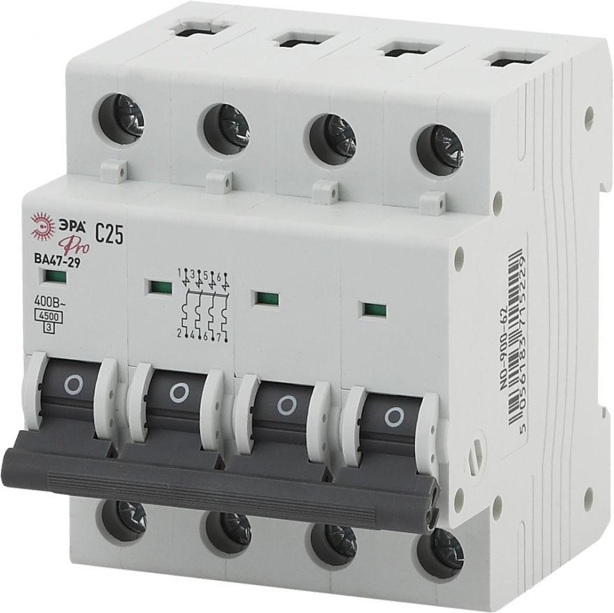 Автоматический выключатель ЭРА ВА47-29 NO-900-66