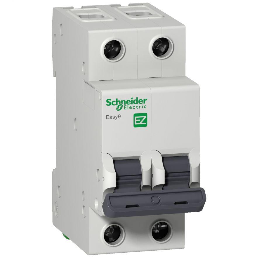 Schneider EASY 9 автоматический выкл. 2P 40А 4,5кА х-ка С 230В EZ9F34240