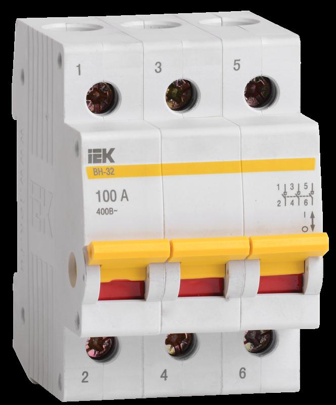 Выключатель нагрузки IEK MNV10-3-032