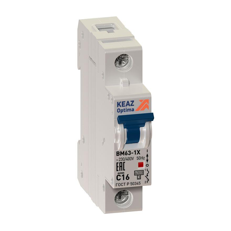 Автоматический выключатель ВМ63-1XB 40А